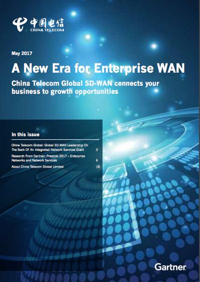 China Telecom A New Era for Enterprise WAN Gartner Report